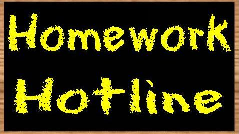 Homework helpline phone system school
